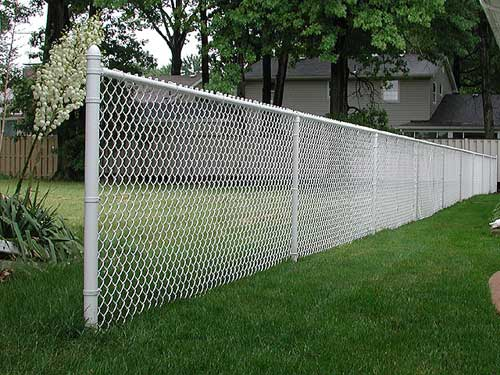 Chain Link Fence - Vinyl Coated Chain Link - Summit Fence Supply